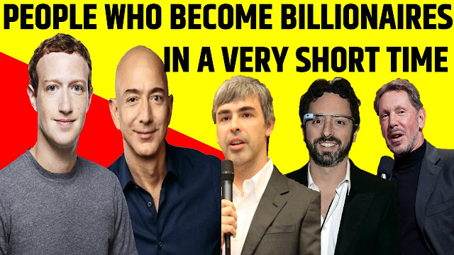 How Long It Took 11 Of The World's Richest People To Become Billionaires
