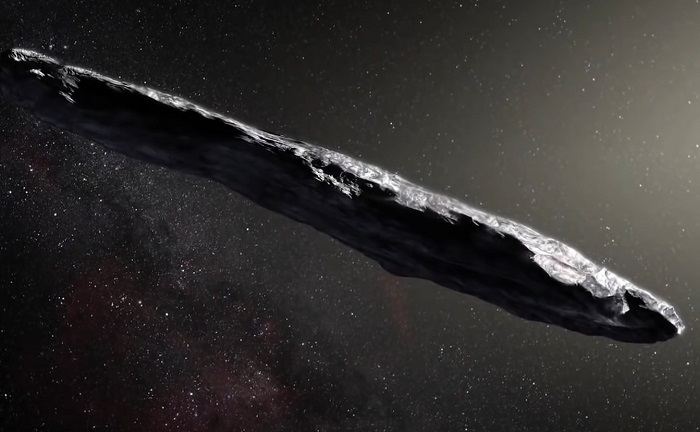 Oumuamua - The Solar System's First Interstellar Object