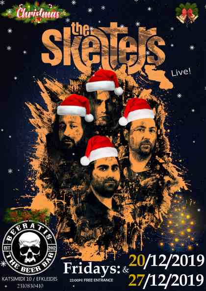 THE SKELTERS: Παρασκευή 20 και 27 Δεκεμβρίου @ Beerατής
