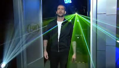 WWE BACKSTAGE Fox CM Punk