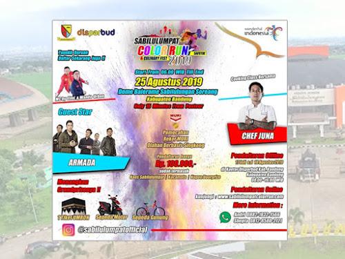 Sabilulumpat Color Run 2019 Kabupaten Bandung