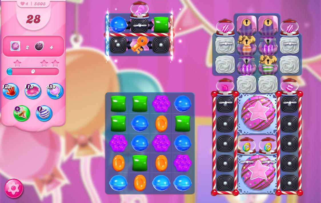 Candy Crush Saga level 5608