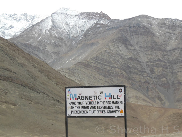 Magnetic Hills, Ladakh  | Mysterious places of World