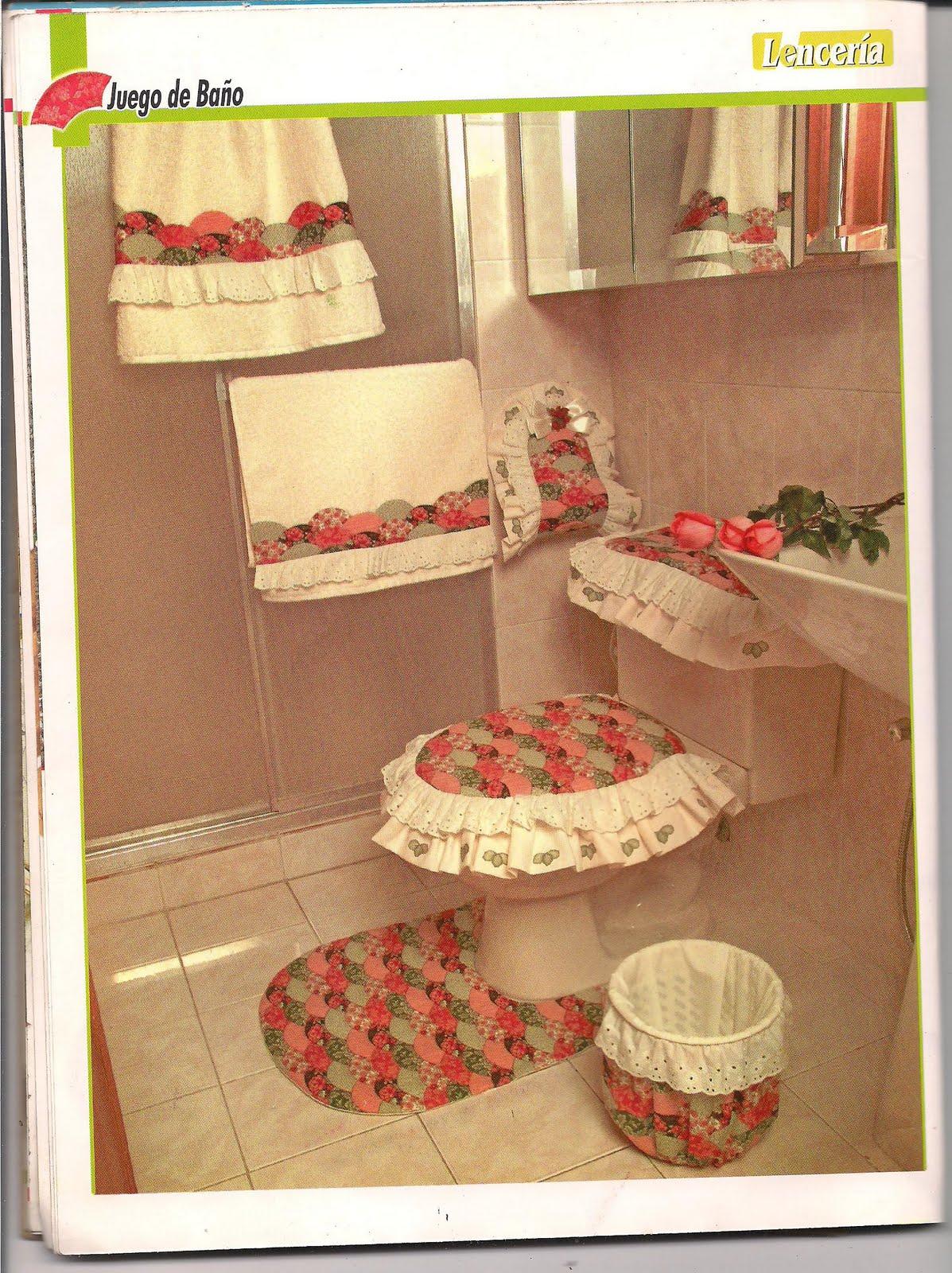 El blog de flor mar y ojito lenceria para ba os - Como hacer decoracion navidena para el hogar ...