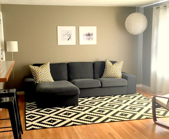 This Is My Living Room With Kivik Couch We Have Had It For 3 Years And Love