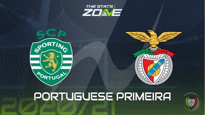مشاهدة مباراة سبورتينج لشبونة و بنفيكا بث مباشر
