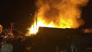 Pasar Tandikat Terbakar, SDN 03 Tandikat Nyaris Dilalap Sijago Merah