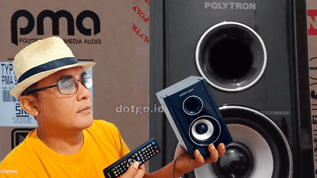 PMA 9300 Polytron Speaker Aktif Bluetooth dan Extra Bass