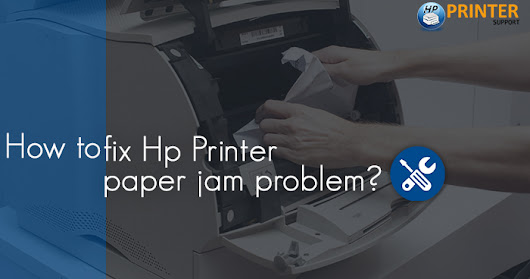 How to fix Hp Printer paper jam problem?