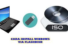 Cara Mudah Membuat Instalasi Windows Via Flashdisk