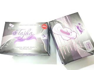 Pembalut Wanita IFA Tajha Night Use Anion Herbal Malam Hari 28cm