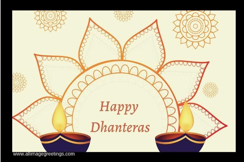 Dhanteras greeting massage