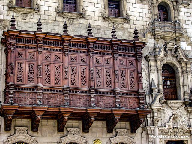 Palácio Arquiepiscopal, Lima, Peru