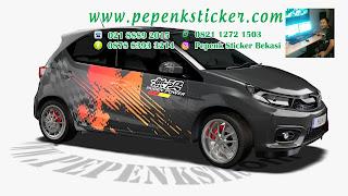Honda brio,Cutting Sticker Bekasi,Cutting Sticker,Decal,Digital printing,sticker mobil,cutting sticker Mobil,Grafis,jakarta,Bekasi,
