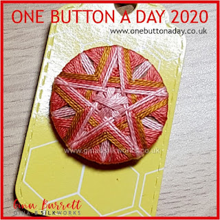 One Button a Day 2020 by Gina Barrett - Day 161 : Amity