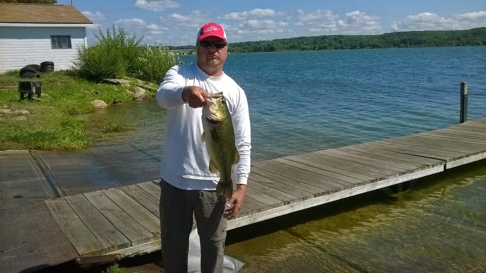T c bass fishing club portage lake 8 17 14 for Portage lakes fishing