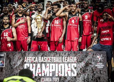 Primeiro de Agosto Africa Basketball League şampiyonu