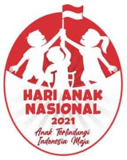 logo hari anak nasional 2021
