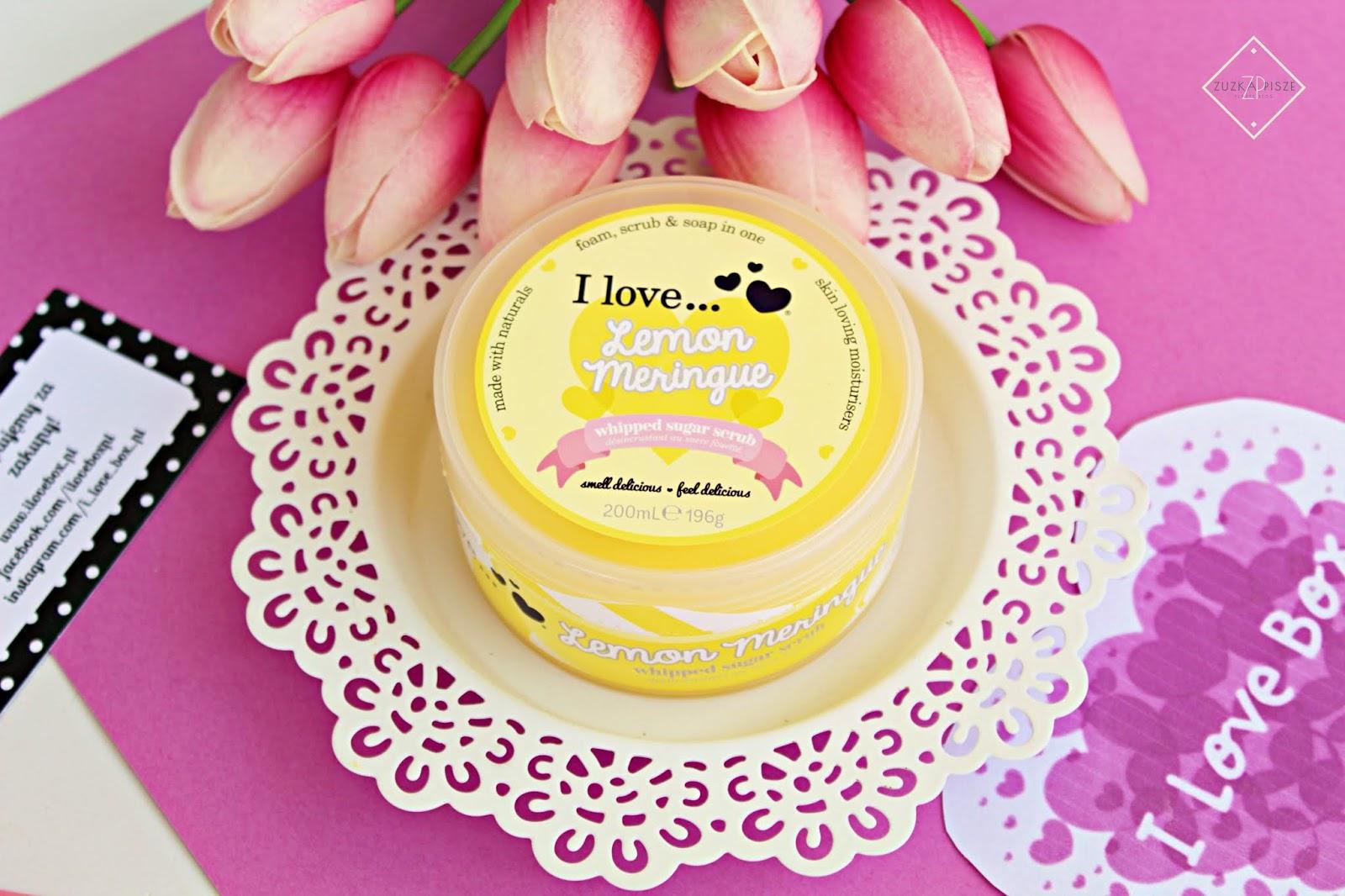 I love... Cukrowa pianka peelingująca - Lemon Meringue