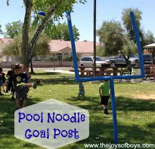 DIY Goal Posts