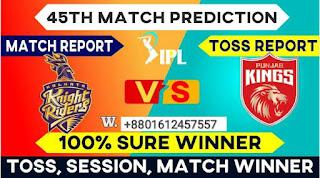 IPL 2021 KKR vs PBKS IPL T20 45th Match Prediction 100% Sure