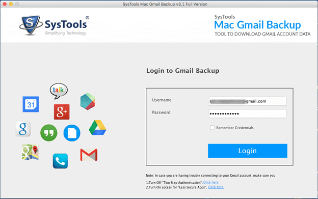 mac gmail backup