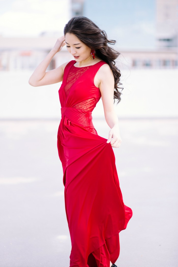 where to get red gowns