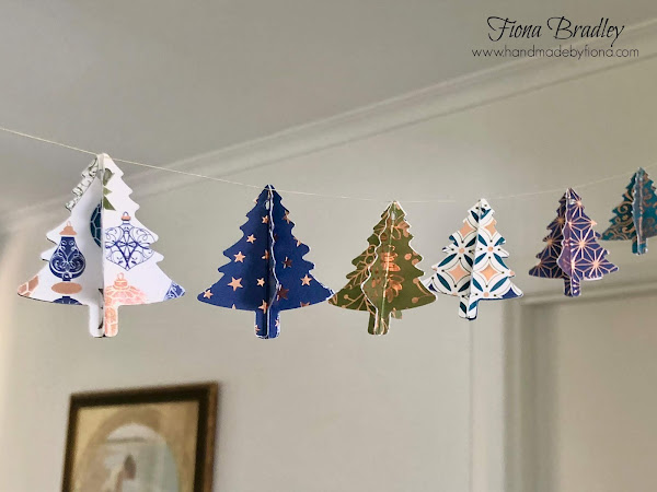 Ink It! Stamp It! Blog Hop: 3D Christmas Tree Garland