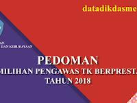 PEDOMAN LOMBA PENGAWAS TAMAN KANAK KANAK (TK / PAUD ) BERPRESTASI TINGKAT NASIONAL TAHUN 2018