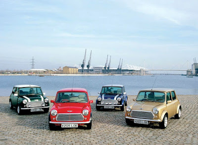 Classic Mini Cooper Urban City Car