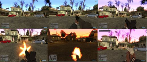 GTA San Andreas First Person Mod For Pc