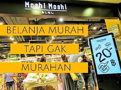 BELANJA MURAH MOSHI-MOSHI PLATINUM MALL BANGKOK