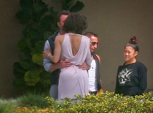 Caught! Paula Patton in the arm of another man