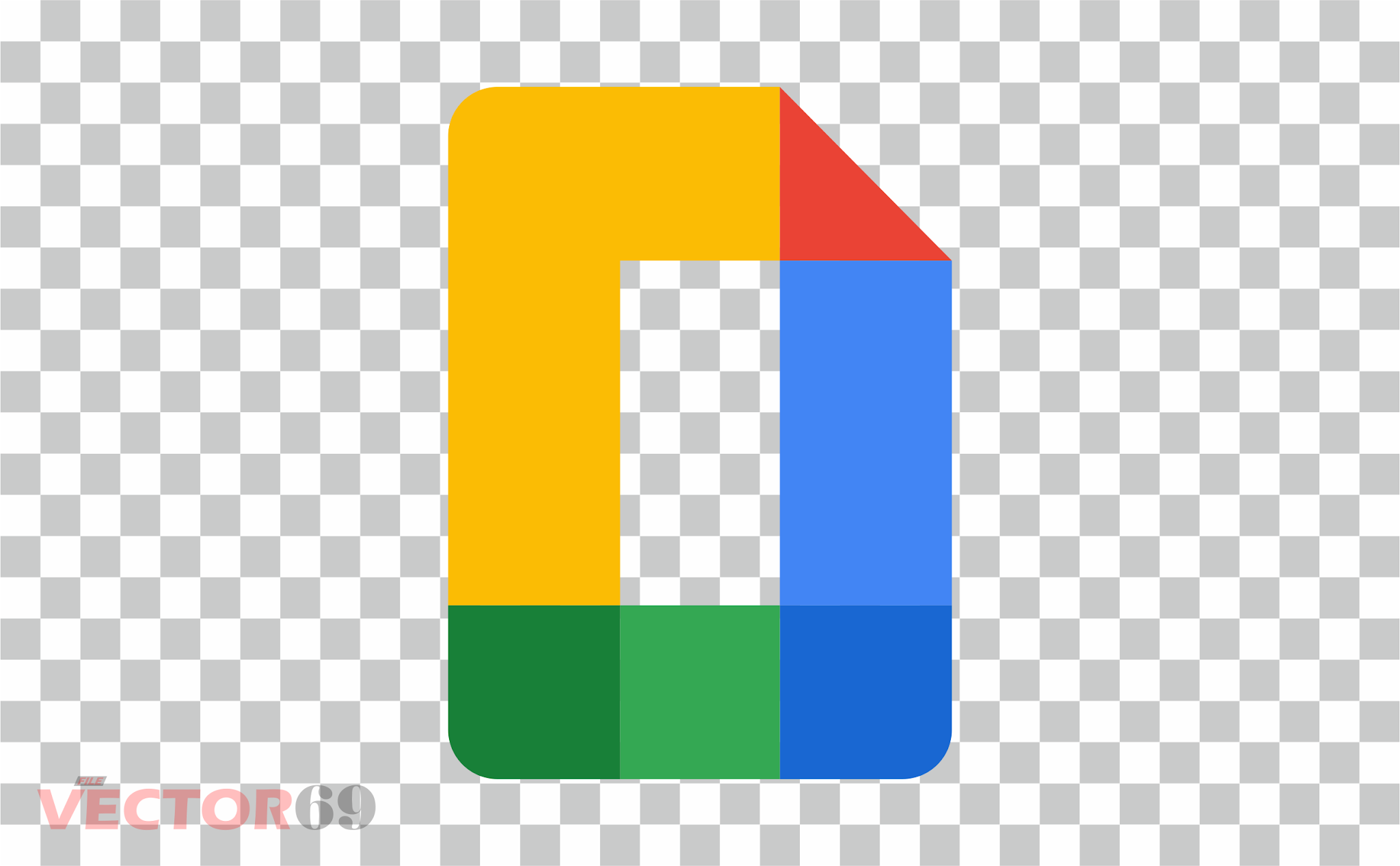 Google Docs New 2020 Logo - Download Vector File PNG (Portable Network Graphics)
