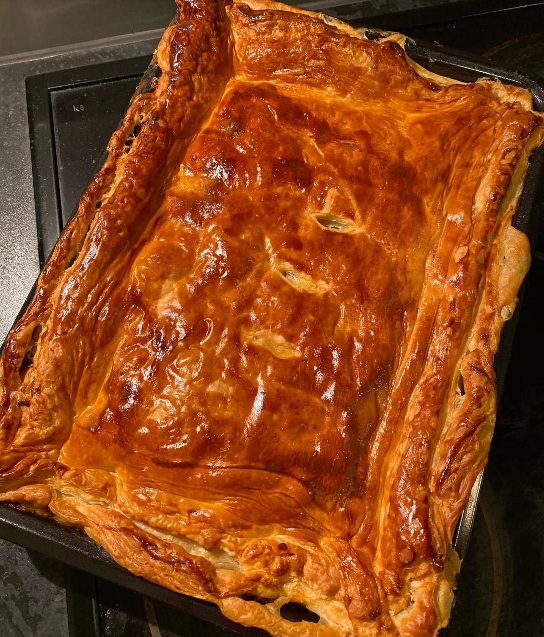Chicken Ham And Leek Pie