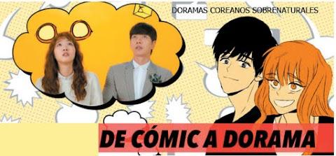 5 Doramas Coreanos basados en Cómics