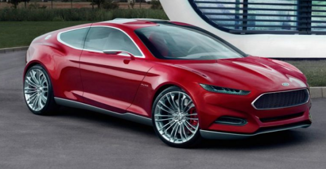 2018 Ford Fusion Coupe Design
