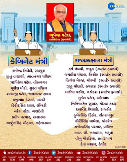 New Chief Minister of Gujarat Declared