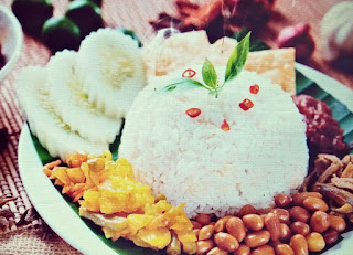 Nasi Gurih - Culinary from Aceh, Indonesia