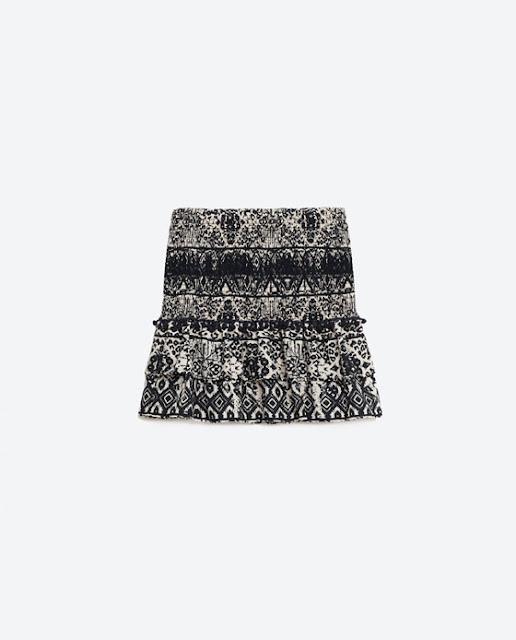Zara Flounce Skirt