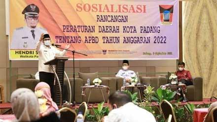 Sosialisasi Ranperda Kota Padang