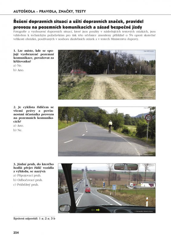 ministerstvo dopravy testy