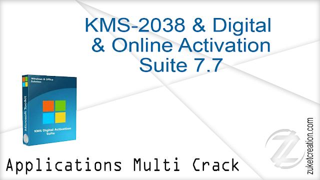 KMS-2038 & Digital & Online Activation Suite 7.7