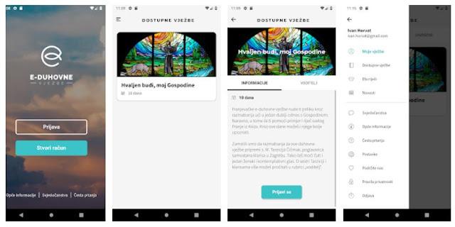 Install e-Duhovne vjeÅzbe (e-Spirit exercises) Mobile App