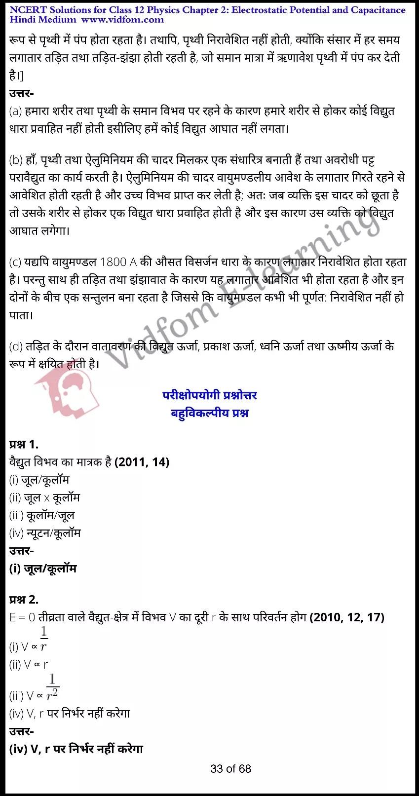 class 12 physics chapter 2 light hindi medium 33