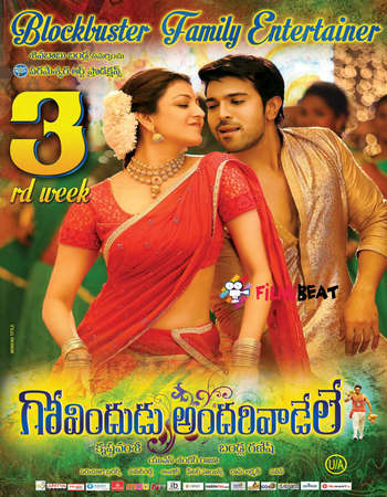 Govindudu Andari Vaadele 2014 Hindi Dual Audio 650MB HDRip 720p ESubs HEVC