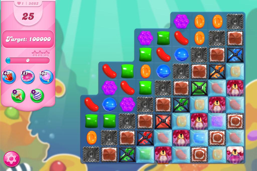 Candy Crush Saga level 5682