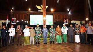 Pisah Sambut Dandim 0719/Jepara Di Pendopo Kabupaten