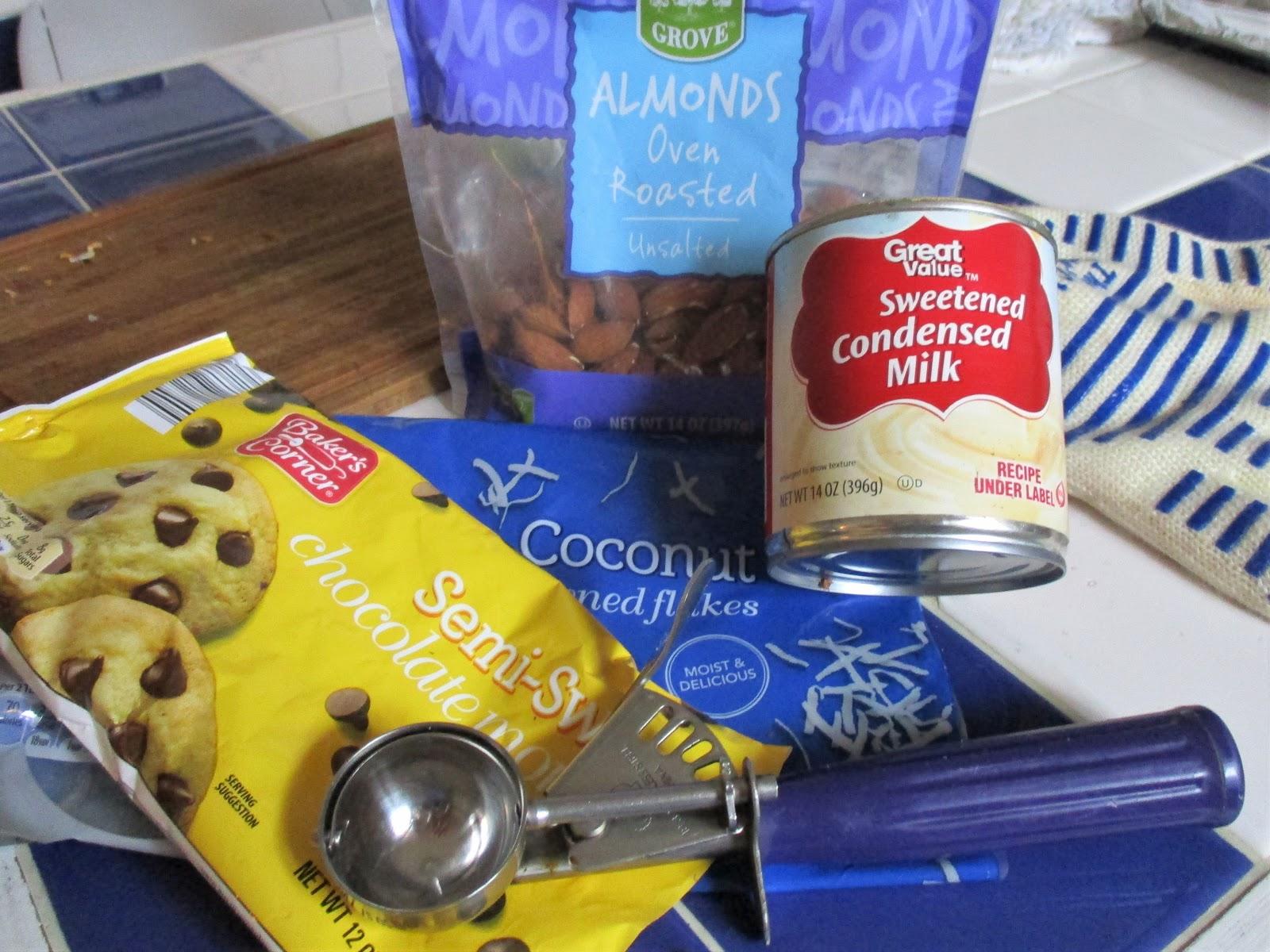 Musings Of A Vintage Junkie Almond Joy Cookies