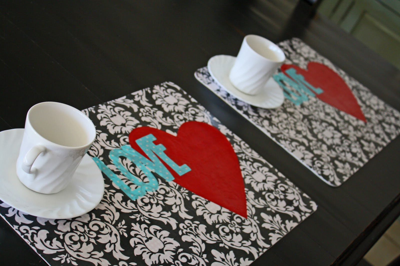 Icandy Amp Tutorial Valentine S Day Placemats Icandy